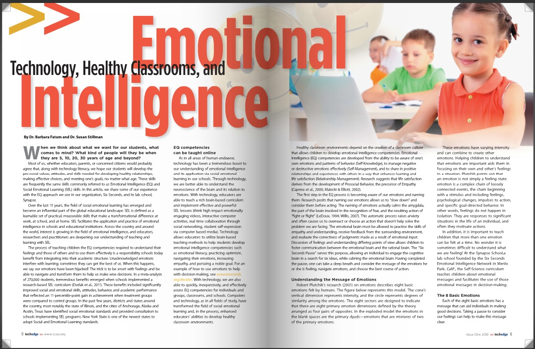 emotional intelligence in teaching Emotional intelligence is a popular construct associated to business, education, health, and more recently sport there is clear evidence to substantiate that emotional intelligence is beneficial for performance.