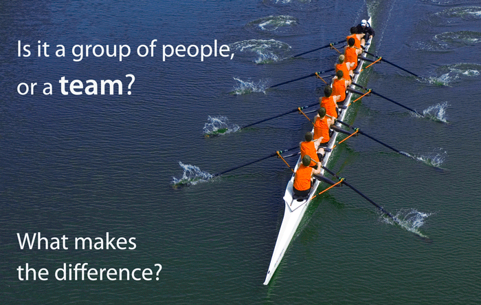 "What does ""teamwork"" mean?"