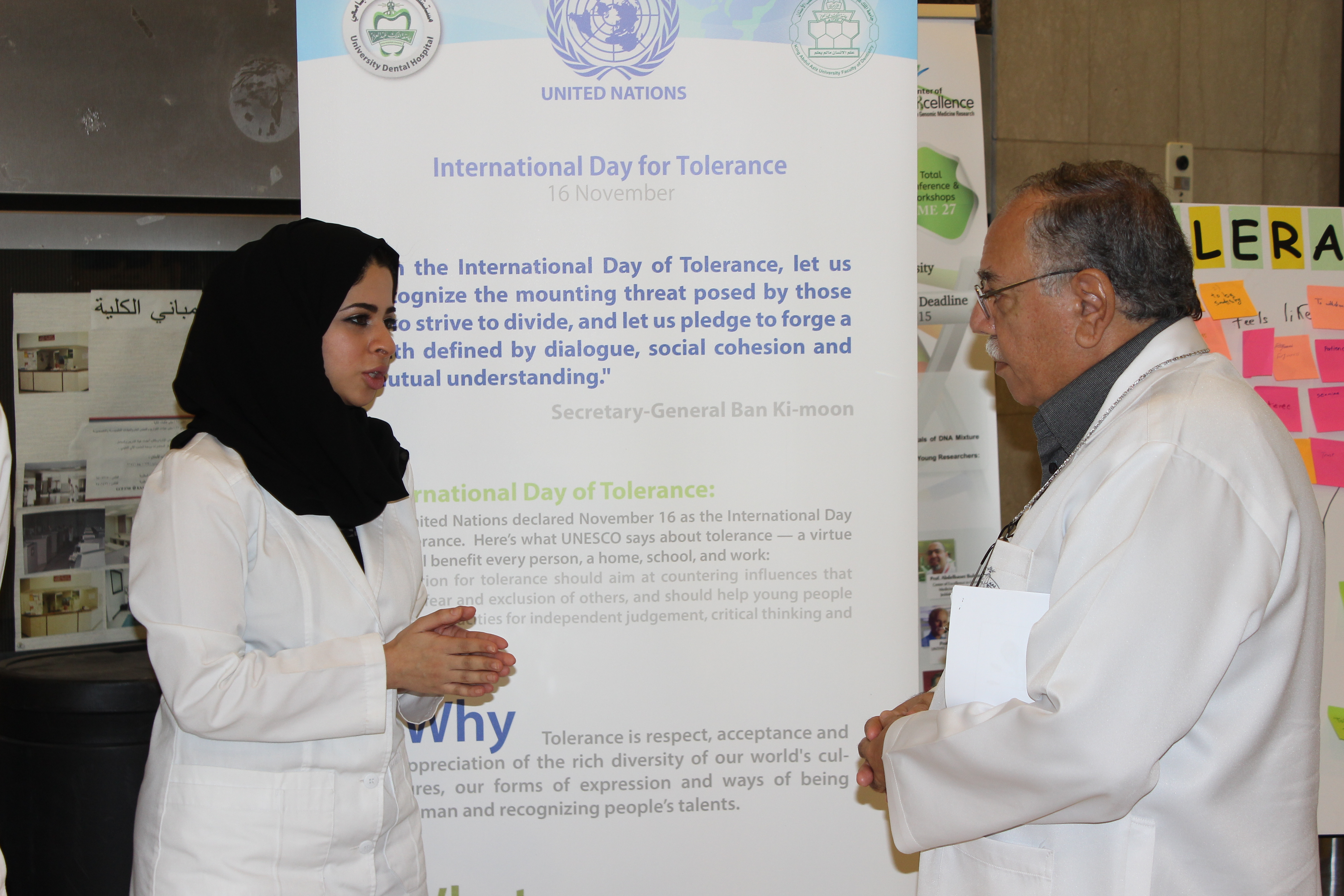 Saudi Dental Students Learn Tolerance + EQ