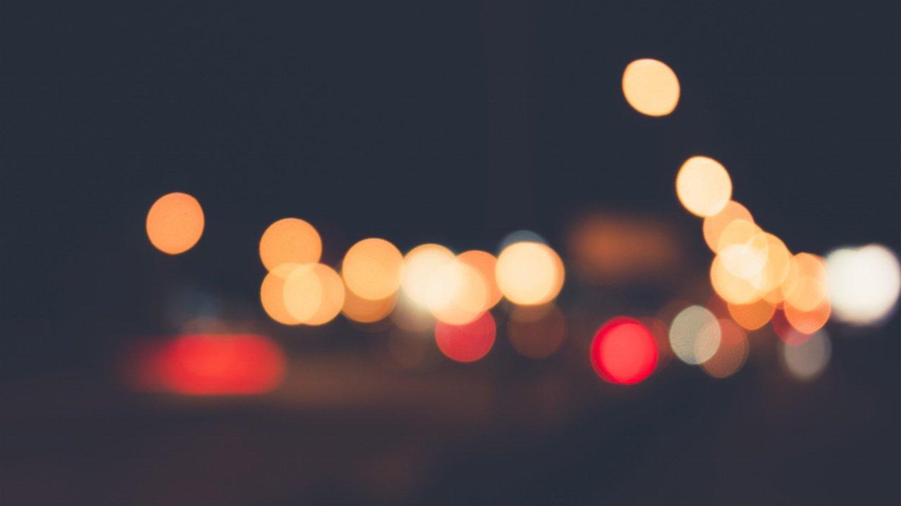 lights-night-unsharp-blured