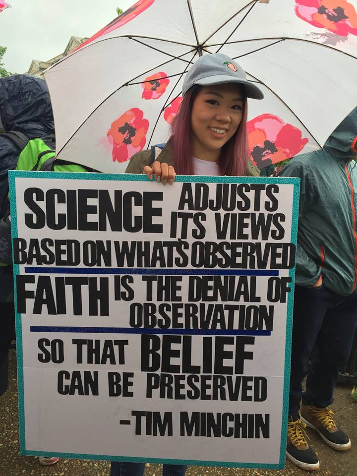 Head Meets Heart: Marching for Science