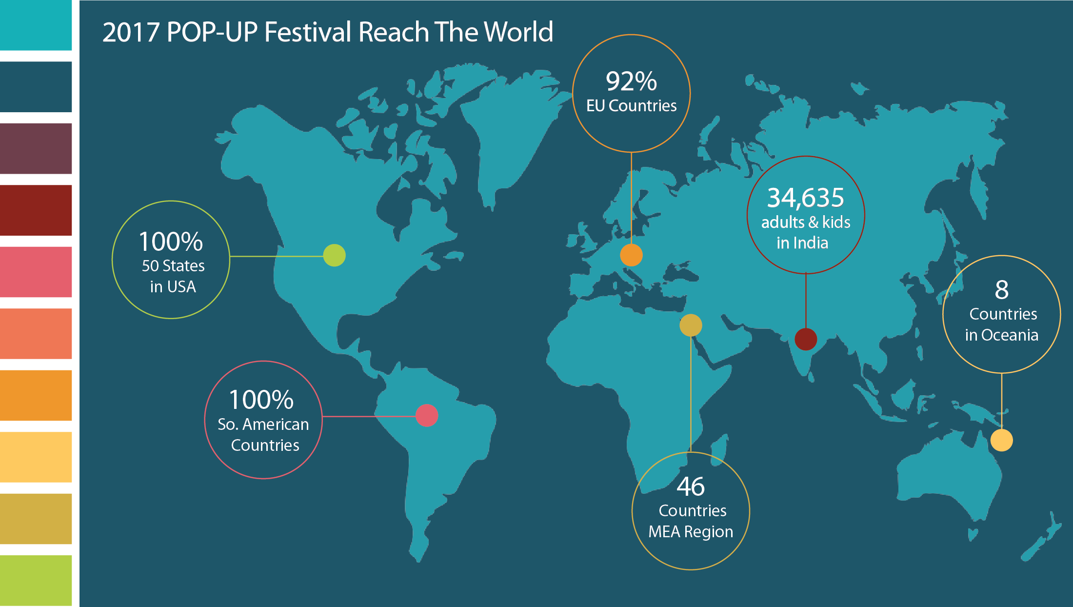 Ready Set Go POPUP Festival Launches Today Six Seconds - World maps with countries and states for kids