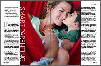 Smart Parenting (Aquarius Magazine, Dubai)